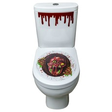 Toilet Sticker Zombie
