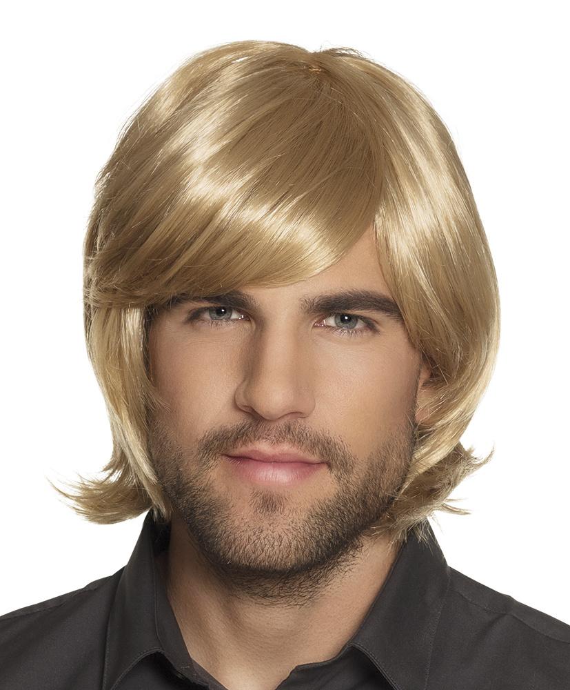 Herenpruik Spike blond