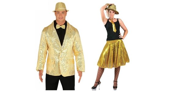 Gouden Outfit