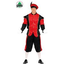 Pietenpak Navarro rood/zwart