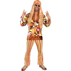 Hippie Retro Outfit Heren