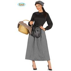 Boerin dames kostuum