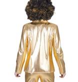 Gouden disco colbert dames