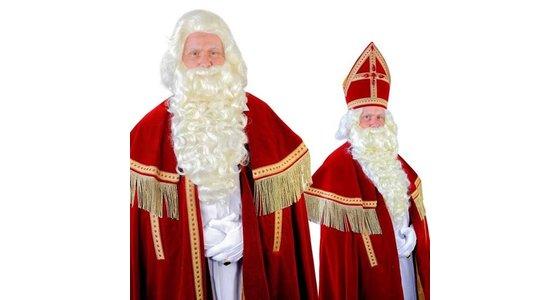 Sinterklaas baard - pruik
