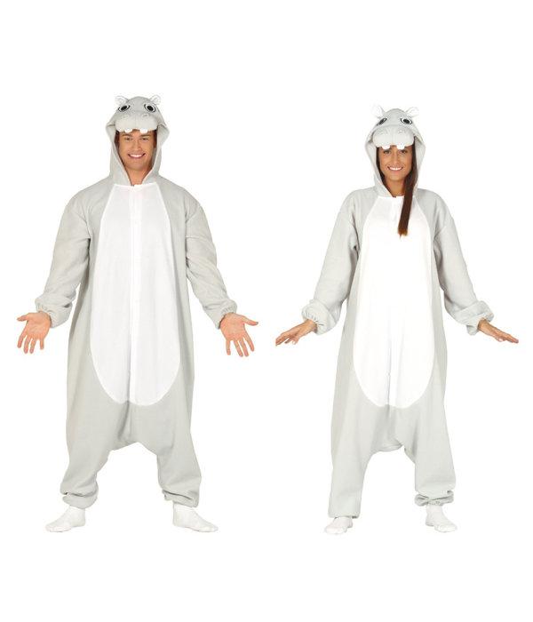 Nijlpaard Onesie Dames/Heren
