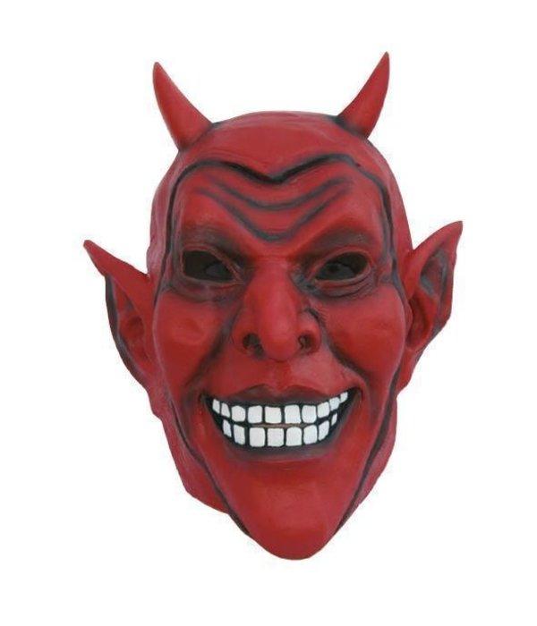 Masker Rode Duivel Latex