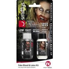Nep Bloed met Latex Kit