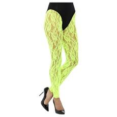 Legging Neon Groen Kant