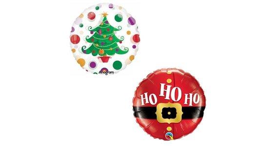 Kerst Helium Ballon