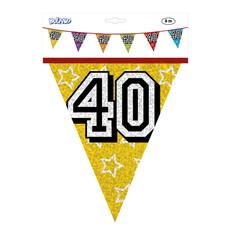 Holografische vlaggenlijn '40' (8 m)