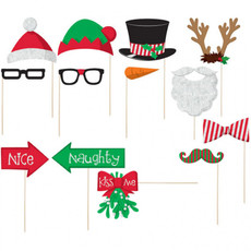 Photo Booth Set Kerst