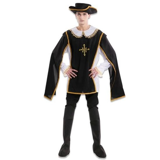 Musketier Kostuum Man Athos