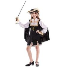 Musketier Kostuum Meisje Johanna