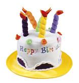 Verjaardagshoed Taart Happy Birthday