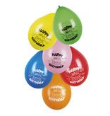 Ballonnen Happy Birthday Set - 6 Stuks
