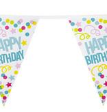 Vlaggenlijn Verjaardag Happy Birthday