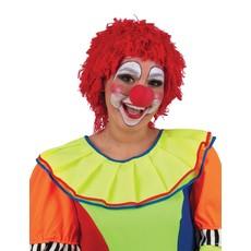 Pruik Clown Rood