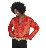 Disco Blouse Man Rood