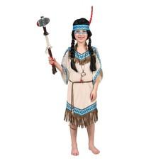Indianen Jurk Meisje Tipi