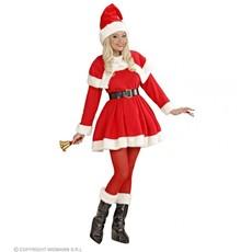 Kerstvrouw kostuum Anna luxe