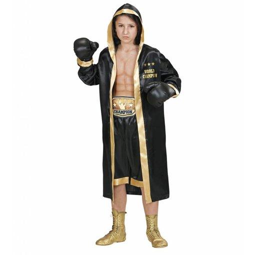 Bokser Kostuum Wereldkampioen Kind