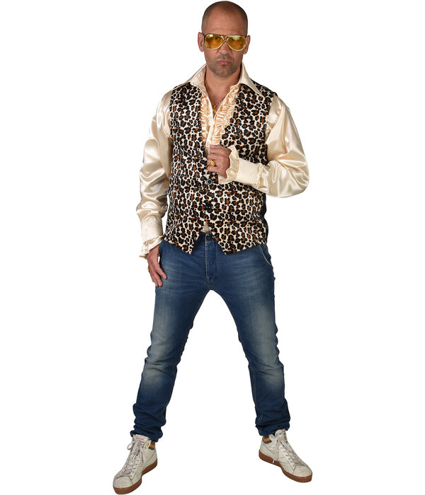 Gilet Luipaardprint Man