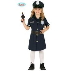 Politie Kostuum Jurkje Meisje Jill