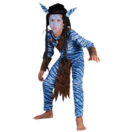 Jungle strijder avatar kostuum jongen