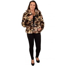Bontjas camouflage Army dames