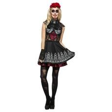Fever Day Of The Dead Kostuum Dames