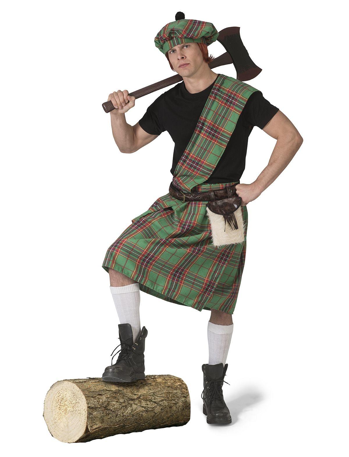 Highlander Kostuum Man