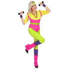 80's Fitness Foute Pak Vrouw