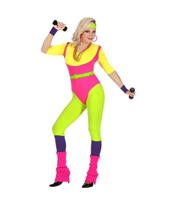 80's Fitness Foute Pak Vrouw