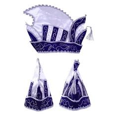 Prins Carnaval Muts Blauw
