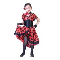Spaanse Flamenco Danseres  Jurk Meisje