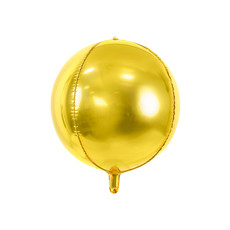Folie Ballon Bal Metallic Goud 40cm
