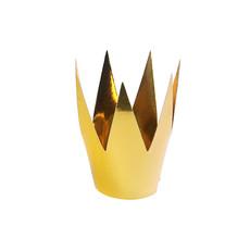 Party Kroon Goud 3 stuks - 5.5cm