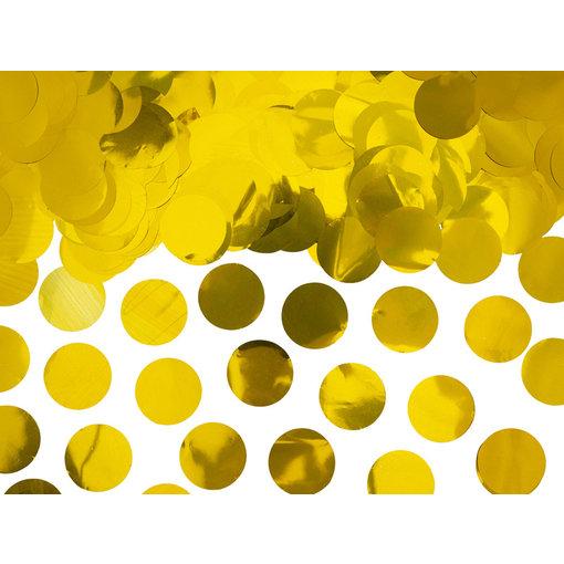 Confetti rond folie goud 15gr