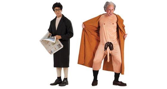 Potloodventer kostuum