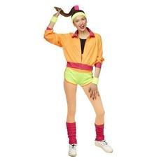 Sexy Disco Trainingspak Fluor Dames