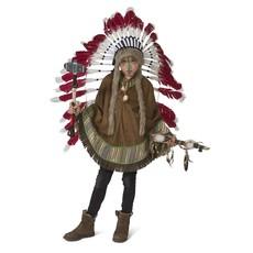 Indianen Poncho Kind Mika