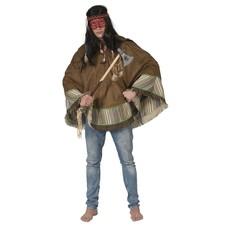 Indianen Poncho Man Tumu
