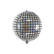 Folie Ballon Bal Holografisch Disco 40cm