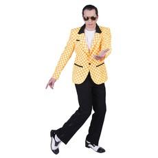 Rock 'n Roll Colbert Geel/Oranje Geblokt