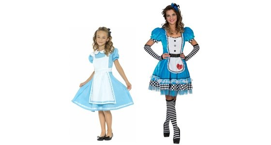 Alice in Wonderland kostuum