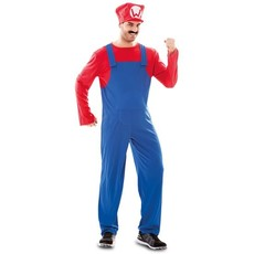Mario kostuum Loodgieter man
