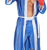 Bokser kostuum blauw