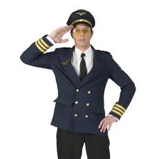 Pilotenjas Man Donkerblauw