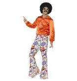 60's Hippie Broek Groovy Love Heren