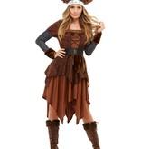 Viking Koningin Kostuum Barbaar